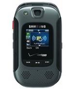 New Samsung Convoy 3 SCH-U680 - Gray (Verizon) Rugged PTT Cell Flip Phone - $43.43