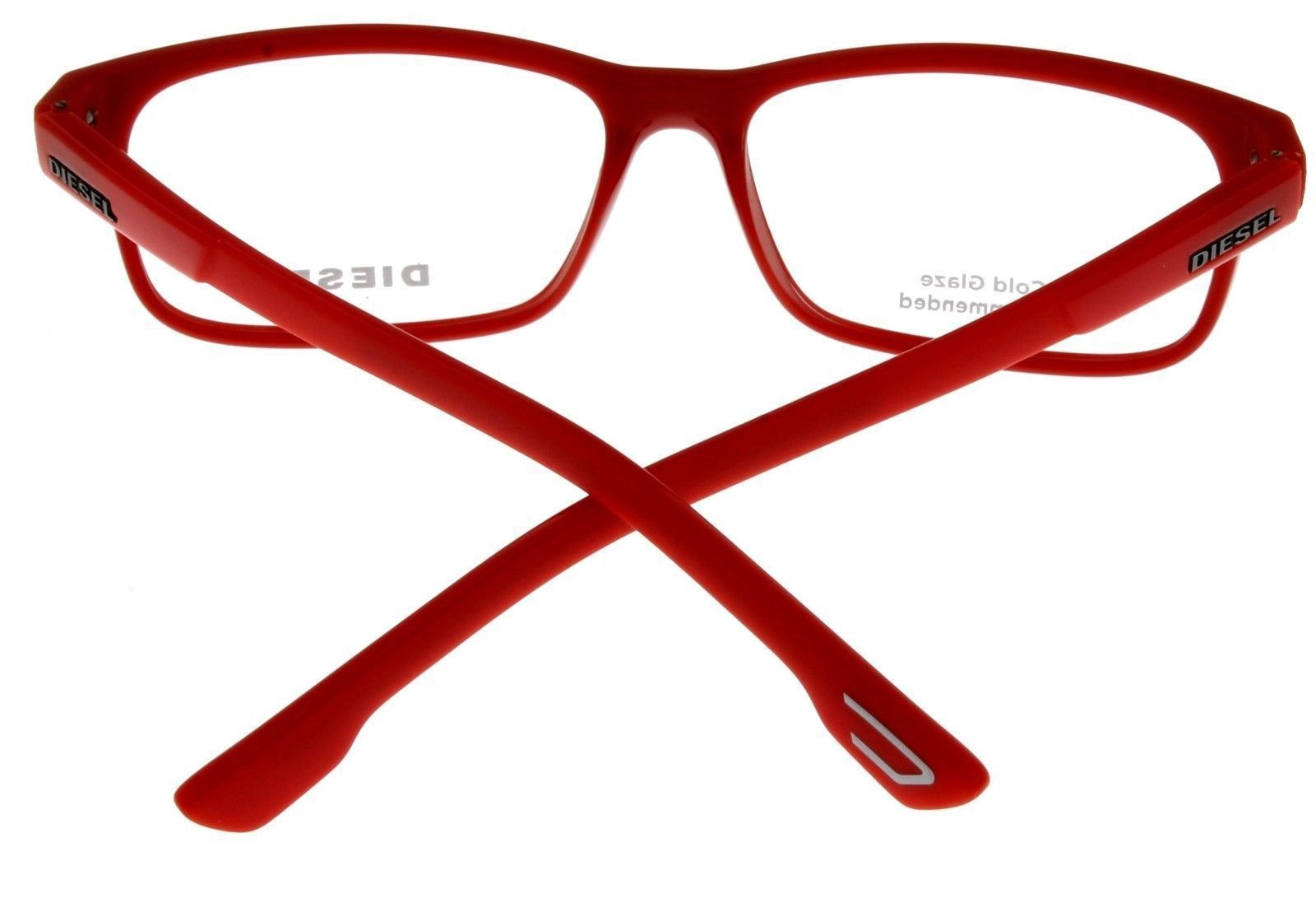 New Diesel Unisex Red Eyeglasses Frame Rectangular DL5224 067
