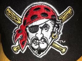Pittsburgh Pirates MLB Promo SGA Black ball Cap Hat. Adjustable - $8.99