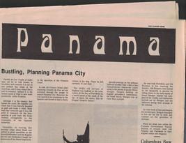 The Caribe News 1970s Building & Planning Panama City Panama - $14.03