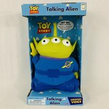 "New Vintage Toy Story Talking Alien Plush 12""Figure 1995 Disney Pixar Wo... - $69.25"