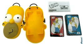 RARE The Simpsons UNO Card Game - Homer Simpson Special Edition Case 200... - $41.79