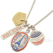 Louis Vuitton LV League Charms 1854 Necklace M61995 Accessory Authentic ... - $387.00