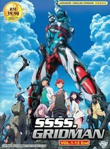 SSSS.GRIDMAN Complete TV Series (1-12) English Audio Dub SHIP FROM USA