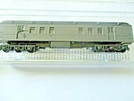 Micro-Trains # 14000001 Undecorated Dark Pullman Green Heavywight RPO Car (N) image 1