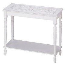White Wood Console Table - $142.58