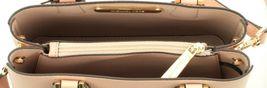 Michael Kors Adele Pastel Pink Leather Shoulder Messenger Bag Handbag image 6