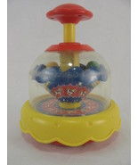 Blue Box Vintage Toddler Push Top Spin Toy Circus Carousel Horse - $13.64