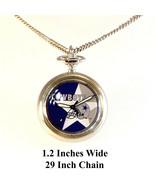 Dallas Cowboys Pendant Necklace Watch Rare New Unworn 1997 S/S 29 Inch C... - $48.36