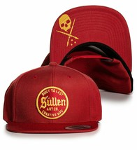 Sullen Art Collective Built to Last Tattoos Urban Scarlet Snapback Hat S... - $31.49
