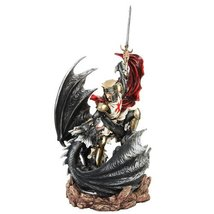 Large Knight Dragon Slayer Statue - $129.99