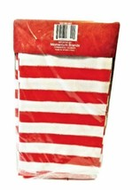 Happy Holidays Thigh High Stockings - Red and White Stripes - Christmas image 2