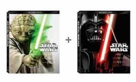 Star Wars Saga Complete 1-6 Blu-ray DVD Set Episodes I II III IV V VI Co... - $108.89