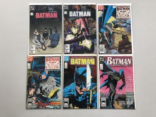 Lot of 12 Batman (1940) from #322-430 VF-NM Near Mint