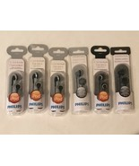 Philips Earbuds In Ear Headphone SHE3100 SHE2640 Choice of Gray Black Si... - $4.99