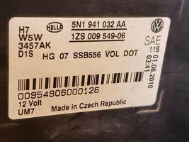 09-11 Volkswagen VW Tiguan Headlight Xenon HID AFS Set L&R image 7