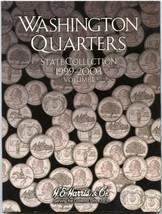 Harris Washington QUARTERS State Collection COIN FOLDER BOOK 1999-2003 V... - $4.98