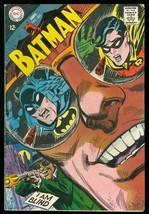 BATMAN #220 1968-I AM BLIND-DC COMIC ROBIN ALFRED ISSUE VG - $31.53