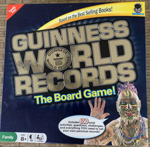 Guiness World Records The Board Game 2010 Family Fun Questions Challenges - £13.67 GBP