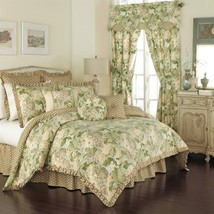 Waverly GARDEN GLORY Mist 5P Queen comforter set NIP - £136.96 GBP