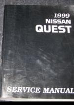 1999 Nissan Quest Furgone Manutenzione Negozio Manuale Officina Fabbrica... - $24.70