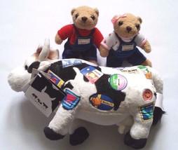 Cowparade Teddy Bears On The Move 2006 Harry And Hannah Herrington Bears - $26.50