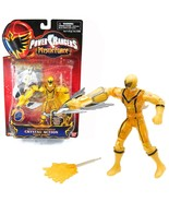 """Power Rangers Mystic Force 5"""" Yellow Crystal Action Figure  2006 - $18.55"""