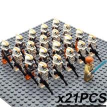 21pcs/set Star Wars The Clone Wars Obi-Wan & 212th Attack Battalion Minifigures - $29.99