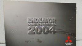 2004 Mitsubishi Endeavor Owners Manual 72960 - $23.74