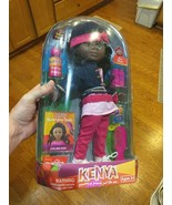 KENYA BLACK girl toy collect Grow up proud doll hair styling + accessori... - $9.89