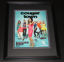 2013 Cougar Town 11x14 Framed ORIGINAL Vintage Advertisement Courteney C... - $22.55