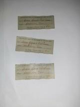 1956 Hamilton, Ohio POST OFFICE EPHEMERA MONEY ORDER RECEIPT LOT 3 TN Fi... - $5.00