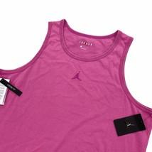 Jordan Men's Sleeveless Tank Top Shirt Loose Fit Cotton Washed Pink CJ62... - $24.99