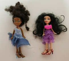 Lil Bratz Dancefloor Funk Zada & Nazalia Mini Dolls original clothes  MG... - $15.99