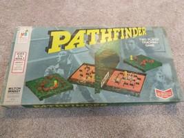 Pathfinder Game Vintage Game 1977 Milton Bradley Complete Box Set Strategy Game - $30.69