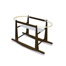 Jolly Jumper Rocking Moses Basket Stand, Expresso - $59.20