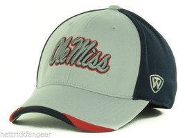 Ole Miss Rebels - Top Of The World Ncaa Grizzly Stretch Fit CAP/HAT- Osfm - $18.99
