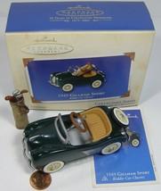 Hallmark Keepsake Kiddie Car Classics 1949 Gillham Sport w/golf bag 2003 - $13.99
