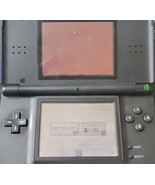 Nintendo DS Lite Cobalt and Black FOR PARTS/ NOT WORKING - No Stylus or ... - $9.75