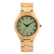 Vintage Men's Wooden Watch, Handmade Natural Wooden Wristwatch for Teena... - $48.99