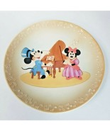 Vintage Walt Disney Productions Mickey & Minnie in Concert Plate - $14.21