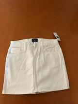 $24.99 NWT New Kid's Gap White Short Skirt Denim Cotton Pockets Size 10 - $14.84