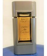Vintage Santos De Cartier Edt Must Parfum Minis 4 ml Miniature Full - $24.74