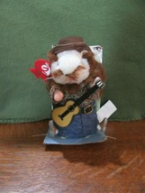 "2003 Gemmy Dancing Hamster ""Red"" Plays Long Haired Country Boy-Partial Box - $8.00"