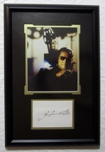 JOHN TRAVOLTA AUTOGRAPHED SIGNED CUT PHOTO MATTED FRAMED w/COA GET SHORT... - $174.99