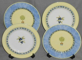 1999 Set (4) Royal Doulton CARMINA PATTERN Salad Plates - $49.49