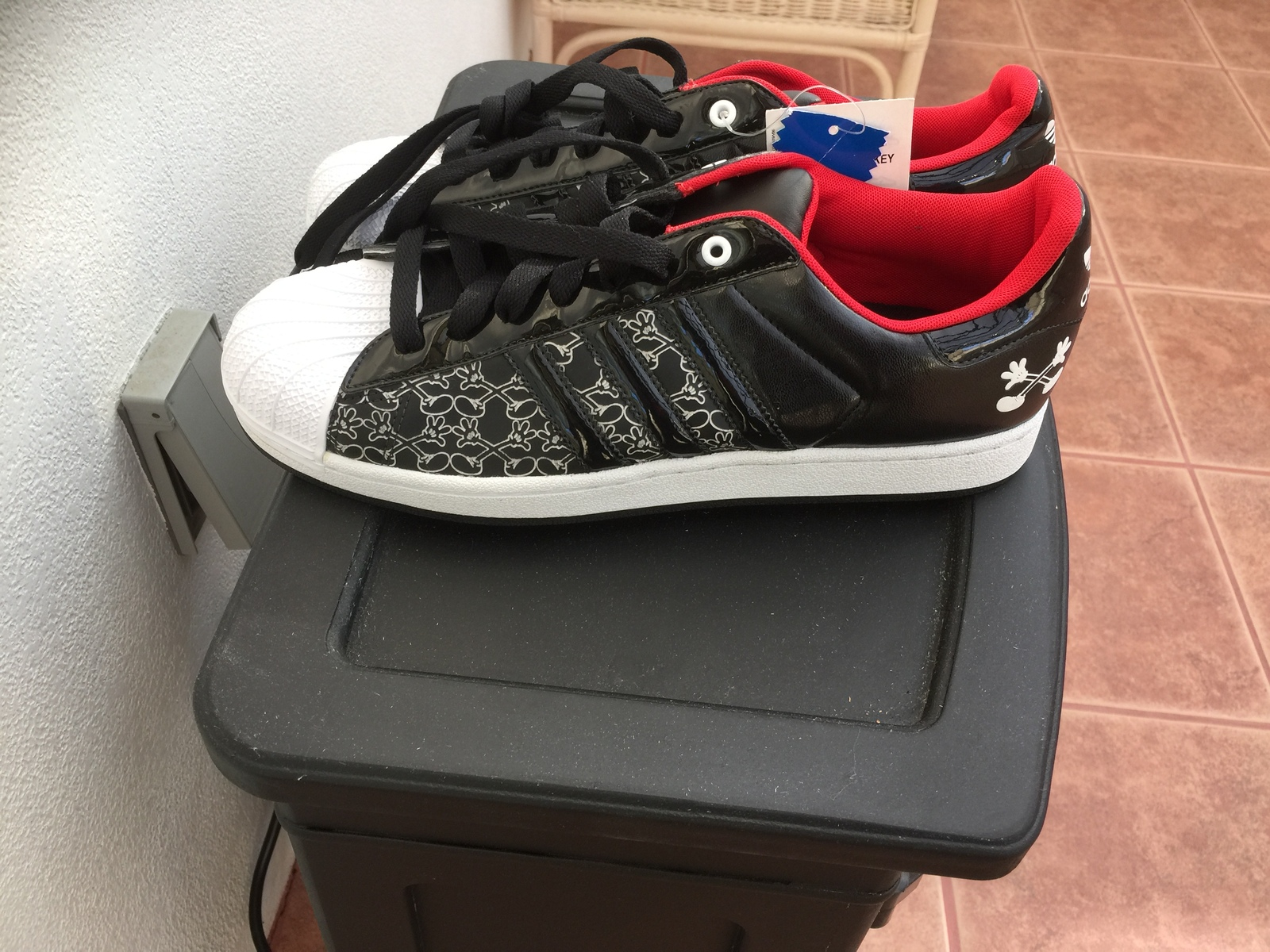 competitive price 48947 853e1 ADIDASMICKEY MOUSETENNIS SHOESMENS 11.5 Us and 50 similar it
