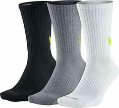 Nike Men's Dry Cushion Crew Training Sock M SX4950-946 - $22.99