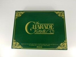 """Vintage 1985 """"The Charade Game"""" By Pressman Complete Very Good Condition - $14.01"""