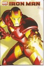 Marvel Universe Iron Man Comic Reader #1 All Ages Golden Avenger Tony Stark - $2.95